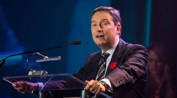 وزير الخارجية الكندي فرانسوافيليب شامبين (أرشيف)