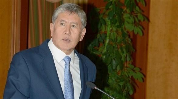 رئيس قرغيزيا السابق ألمظ بك أتامباييف (أرشيف)