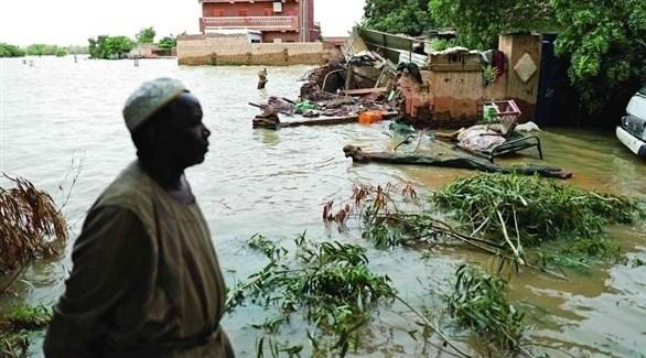 من فيضانات السودان (أرشيف)
