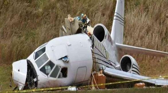 حطام طائرة خفيفة تقل سياح في فرنسا (أرشيف)