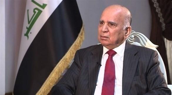زير الخارجية العراقي فؤاد حسين (أرشيف)
