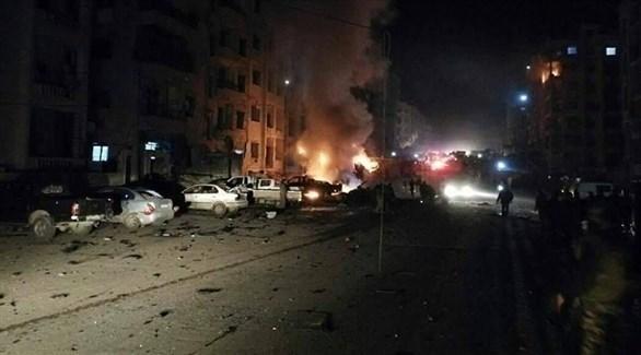 انفجار سابق في إدلب (أرشيف)