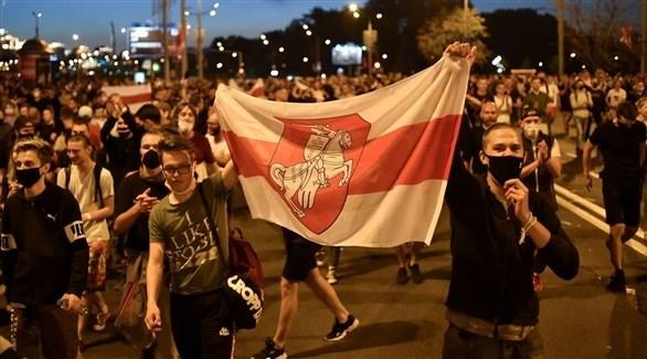 مظاهرات في بيلاروس (أرشيف)