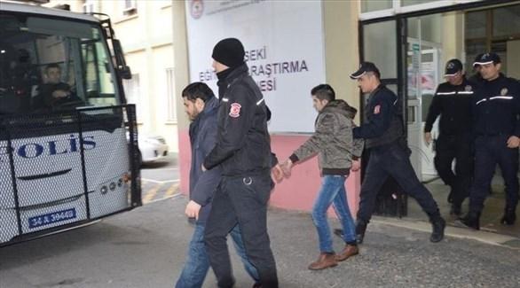 شرطة تركية تعتقل محتجين أكراد بحجة الإرهاب (أرشيف)