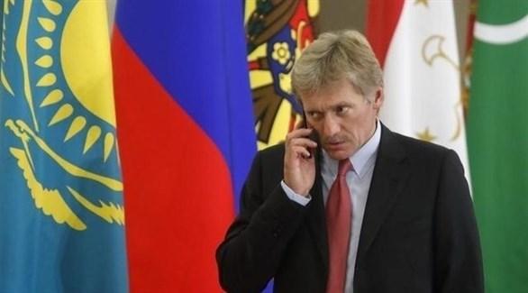 المتحد باسم الكرملين الروسي دميتري بيسكوف (أرشيف)