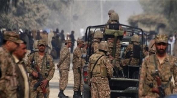 جنود باكستانيون علا الحدود مع الهند (أرشيف)