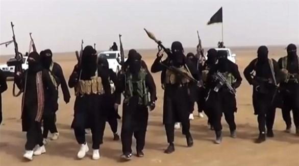 مقاتلون من تنظيم داعش الإرهابي (أرشيف)