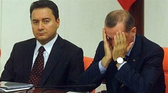 علي باباجان وأردوغان (أرشيف)