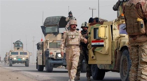 عناصر وآليات من الجيش العراقي (أرشيف)