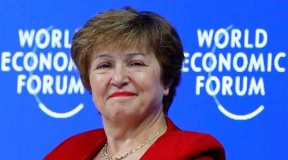 مديرة صندوق النقد الدولي كريستالينا جورجيفا (أرشيف)