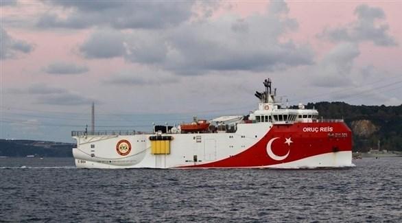 السفينة التركية عروج رئيس (أرشيف)