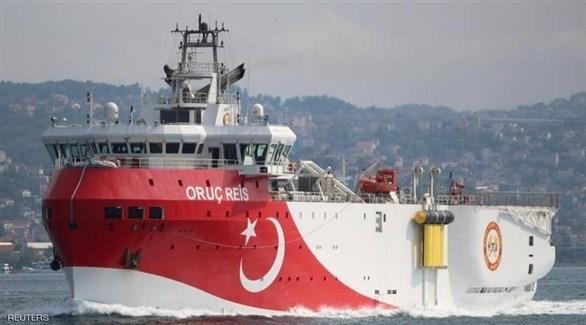 سفينة عروج ريس التركية (أرشيف)