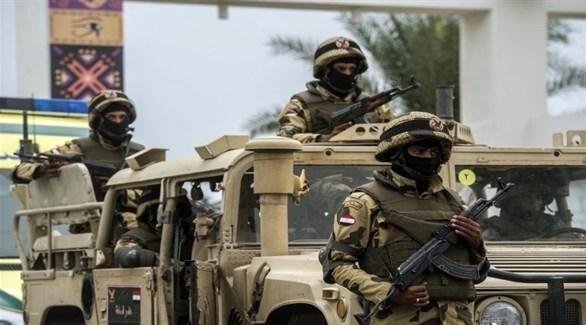 عناصر من قوات الأمن المصرية في سيناء (أرشيف)