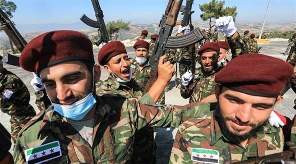 مسلحون سوريون موالون لتركيا (أرشيف)