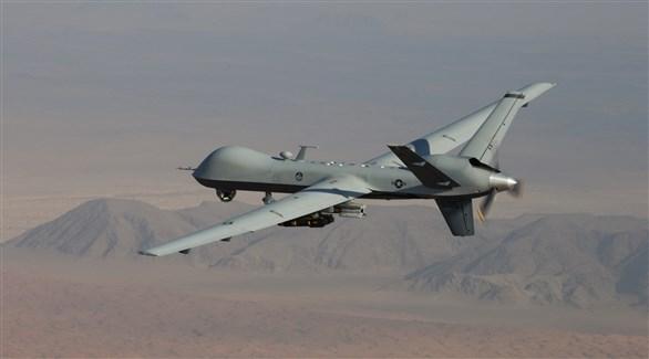 طائرة أمريكية دون طيار من طراز إم كيو-9 (أرشيف)