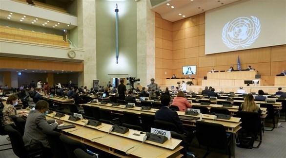 اجتماع لمجلس حقوق الإنسان في الأمم المتحدة (أرشيف)