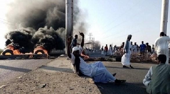 محتجون سودانيون في بورتسودان (سوادن تربيون)