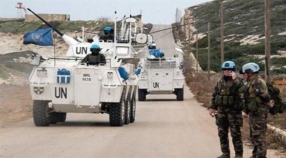 قوات من اليونفيل على الحدود بين لبنان وإسرائيل (أرشيف)