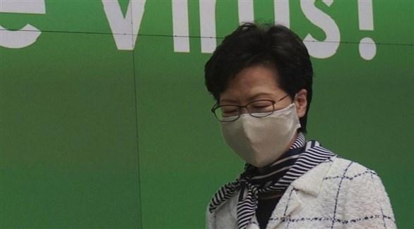 زعيمة هونغ كونغ كاري لام (أرشيف)
