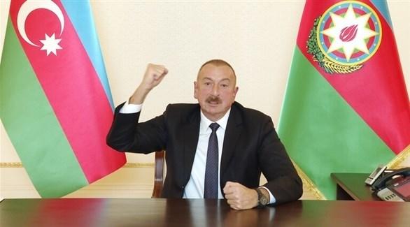 رئيس أذربيجان، إلهام علييف (أرشيف)