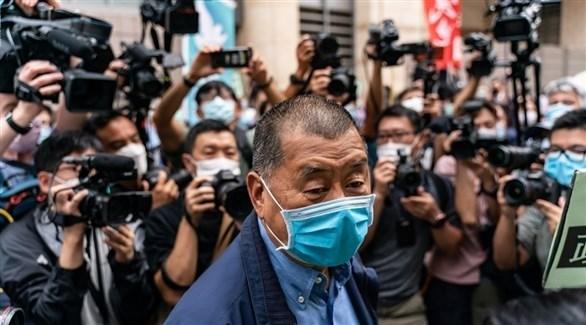 قطب الإعلام في هونغ كونغ جيمي لام خلال جلسة محاكمة (أرشيف)
