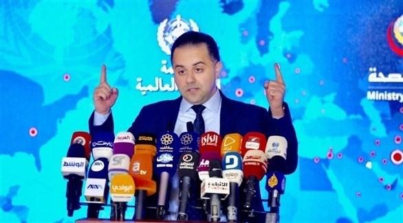 المتحدث الرسمي باسم وزارة الصحة الكويتية عبدالله السند (أرشيف)