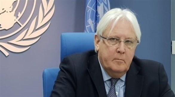 المبعوث الخاص للأمين العام للأمم المتحدة إلى اليمن مارتن غريفيث (أرشيف)