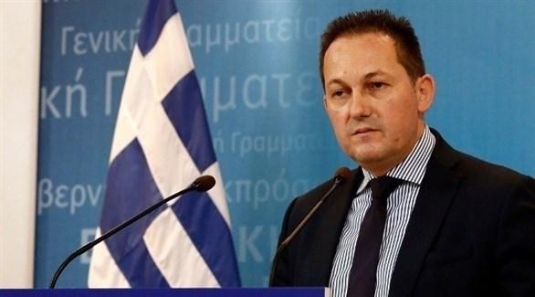 المتحدث باسم الحكومة اليونانية ستيليوس بيتساس (أرشيف)