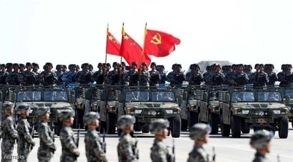 عرض عسكري للجيش الصيني (أرشيف)
