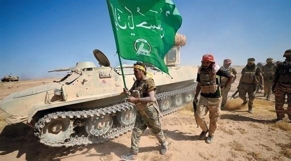 عناصر من الميليشيات المدعومة إيرانياً في العراق (أرشيف)