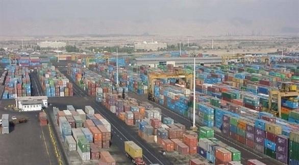 حاويات في ميناء بندر عباس الإيراني (أرشيف)