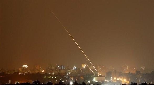 صاروخ في سماء غزة (أرشيف)