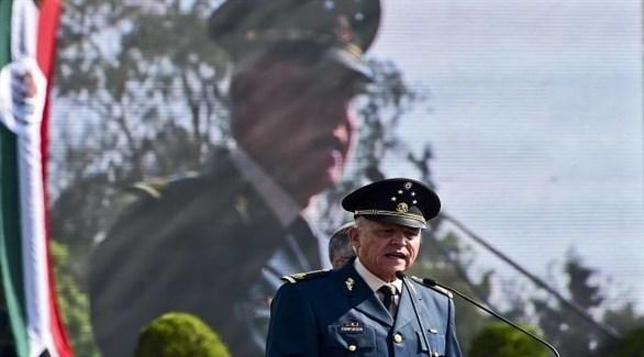 وزير الدفاع المكسيكي السابق سلفادور سيينفويغوس (أرشيف)
