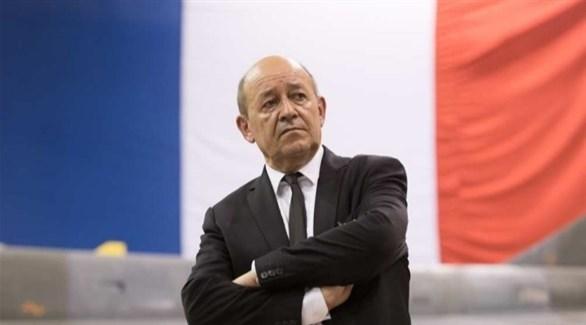 وزير الخارجية الفرنسي جان-إيف لودريان (أرشيف)