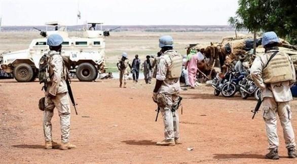 عناصر من بعثة الأمم المتحدة لحفظ السلام في مالي (أرشيف)