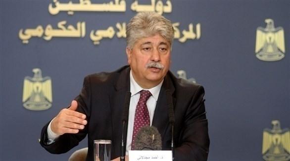 عضو اللجنة التنفيذية لمنظمة التحرير الفلسطينية أحمد مجدلاني (أرشيف)
