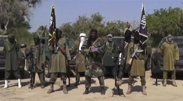 مسلحون من داعش الإرهابي في نيجيريا (أرشيف)