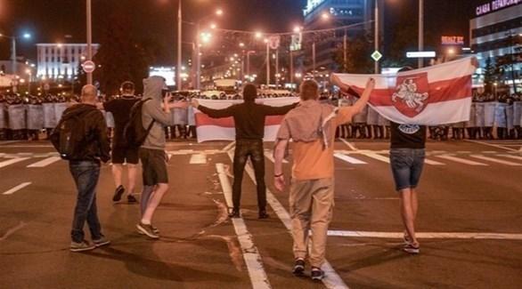 احتجاجات في بيلاروس (أرشيف)