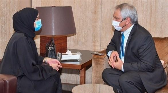 المتحدث الرسمي باسم وزارة الخارجية الإسرائيلية ليئور حياة في البحرين (بنا)