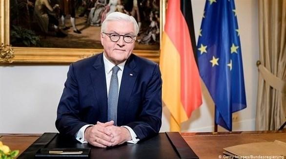 الرئيس الألماني فرانك- فالتر شتاينماير (أرشيف)