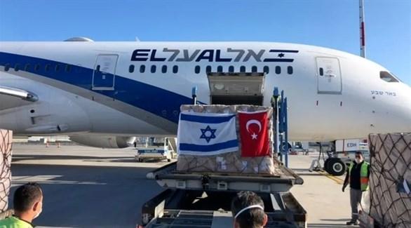 أحد رحلات الشحن الجوي بين إسرائيل وتركيا لصالح شركة العال الإسرائيلية (أرشيف)
