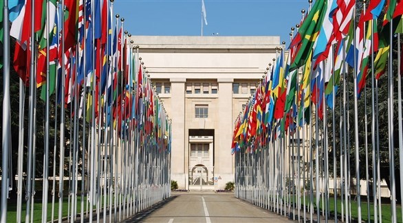 مقر الأمم المتحدة في جنيف السويسرية (أرشيف)