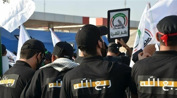 عناصر من ميليشيا ربع الله العراقية (أرشيف)