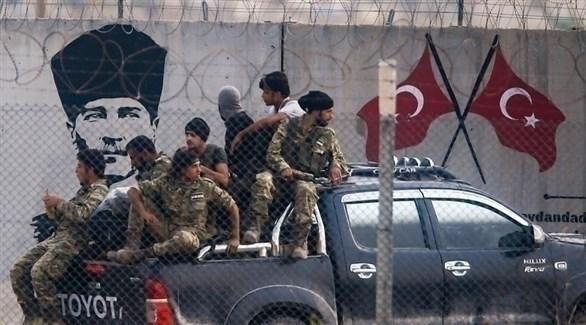 مقاتلون سوريون موالون لتركيا (أرشيف)