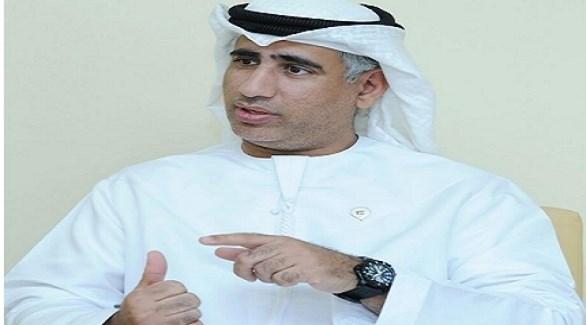رئيس منطاد الإمارات الكابتن طيار عبدالعزيز المنصوري (أرشيف)