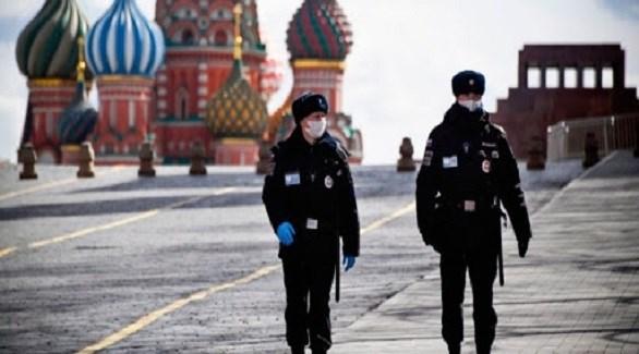 شرطيان روسيان في موسكو (أرشيف)