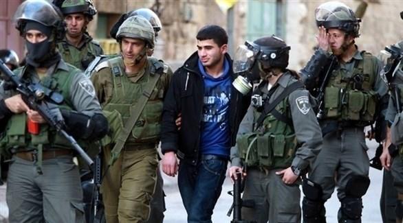 الشرطة الإسرائيلية تعتقل فلسطينياً في الضفة الغربية (أرشيف)