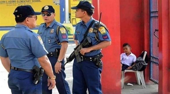 عناصر من الشرطة الفلبينية (ارشيف)