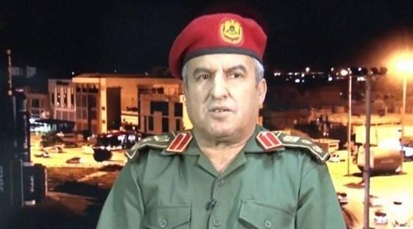 مدير التوجيه المعنوي في الجيش الليبي العميد خالد المحجوب (أرشيف)