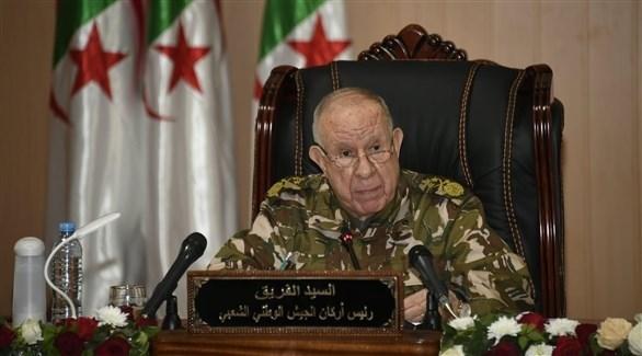 رئيس أركان الجيش الجزائري الفريق سعيد شنقريحة (أرشيف)